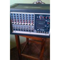 Consola Peavey Xr8600 Dañada Modulo Amplif. Funciona Pasiva.
