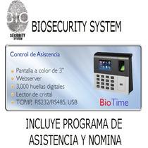 Equipos Control De Acceso Y Asis Biometrico Biotrack Biotime