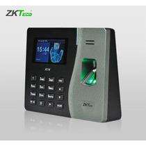 Zk K14 Control De Tiempo Y Asistencia Biometrico Huella Dig.