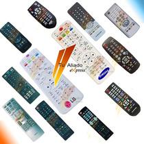 Control Remoto Para Todos Lg Samsung Tv Dvd Lcd Led Plasma