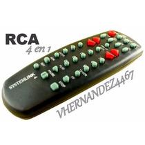 Control Remoto Rca Universal 3 En 1 Tv Dvd Vhs Cable Satelit