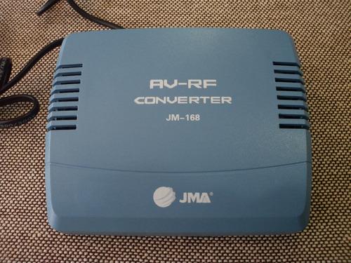 Convertidor Modulador Rf Adaptador Para Tv