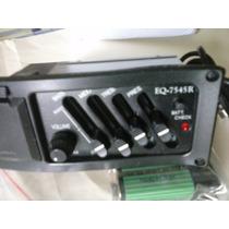 Kit Equalizador 7545r Pre-amplificador