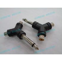 Convertidor Plug Mono 6.3 O 1/4 A Rca Tipo Y