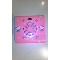 Base Fan Cooler Mini Lapto De Hello Kitty 11 Pulgada Rosada