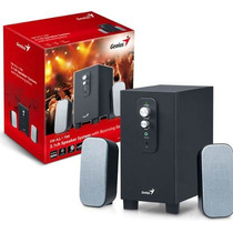 Cornetas Genius Sw-a2.1 700 22 Watts Sonido Pc Tv Nuevo
