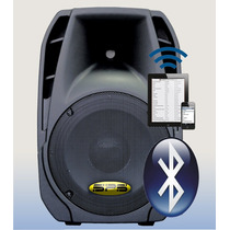 Corneta Amplificada Sps-15p630bt 800w Bluetooth Usb Ipod Aux