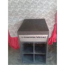 Cajon Cervin Vega Con Corneta Bajo Marca Targa 1000 Watts