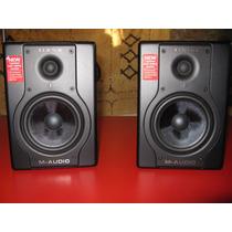 Monitores De Estudio M Audio Bx5a Muy Buen Estado