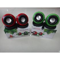 Cornetas Multimedia Speaker System Usb 2.0 2.5w*2