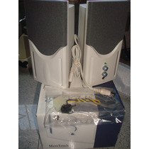 Speaker 2.1 Microtouch 250 Watt ( Cornetas De Computadora )