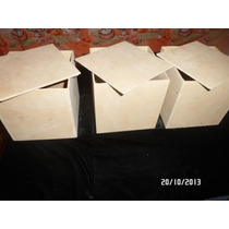 Cajitas De Mdf En Crudo Para Cotillón Medidas 15 X 15 X 15cm