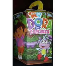 Dora La Exploradora Diego Go Cotillon Exagonal Infantil