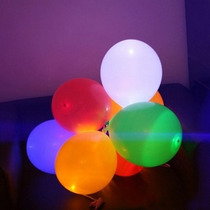 Globos Con Luz Para Fiestas, Reuniones, Decoraciones!!!!