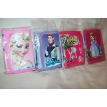 Billetera Frozen Princesa Sofia Monster High Planes Cotillon