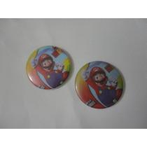 Mario Bros, Chapa De Mario, Cotillon Mario