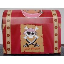 Cotillon Jake Y Los Piratas Cofre Pirata Fiesta Cnv13