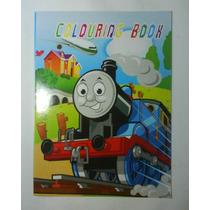 Libros Para Colorear Thomas, Mario Bross, Para Cotillones