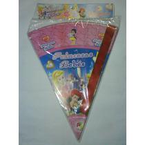 Cono Princesas Bebes, Mario Bros., Y + Para Cotillones.
