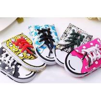 Libretas Muy Originales Con Diseño De Zapatos Converse