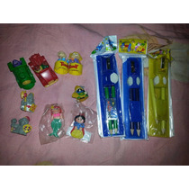 Remate Figuras Set Escolares Carritos Princesas Piñatas
