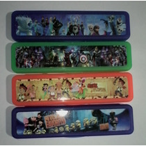 Cartucheras Plásticas Toy Story, Bajoterra, Frozen, Cotillón