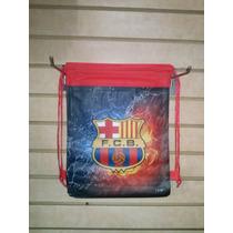 Bolso Cotillon Tula Futbol Barcelona Y Real Madrid
