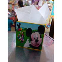Cotillones Mdf Cajas Mickey La Casa De Mickey 10cmx10cmx10cm