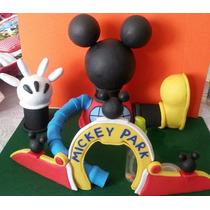 Casa De Mickey Mouse En Masa Flexible