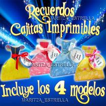 Cajitas Imprimibles Princesas Disney Vestidos Recuerdos