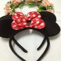 Cintillos De Orejitas De Minnie Mouse Para Disfraz Cotillon
