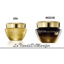 Crema Facial Anew Ultimate 7s Día Y Noche Avon 50g C/u