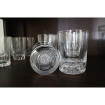Hermosos Vasos Whisky Marca Francesa Cristal D´arques Bellos