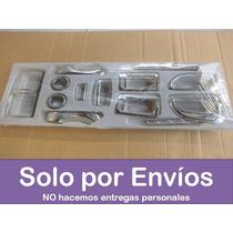 Kit Interno Covers Cromados Tablero Hyundai Tucson 15 Piezas