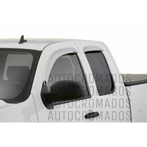 Deflector Tejas Cromadas Ventanas Chevrolet Silverado 07/13