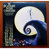 The Nightmare Before Christmas Calendario 2008 De Colección