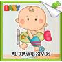 Vinilos Osandme Osos Bebe Baby Cigueña Nacimiento Infantil