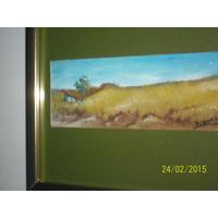 Obra Arturo Quevedo,oleo Sobre Carton Premio Municipal Guare