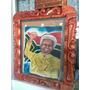 Pintura Original Y Única De Nelson Mandela
