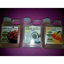 Aceite De Almendras Artesanal Coco Y Mandarina