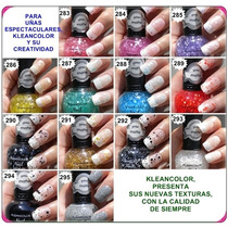 Esmaltes Kleancolor Escharchados. Mayor Y Detal
