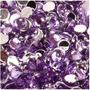10 Cristales Para Decoración De Uñas Violeta 2mm