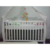 Cuna Cama Bebe Convertible Importada Madera 3en1