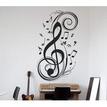 Vinilos Decorativos Motivo Musicales -rotulados-paredes-rock