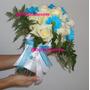 Bouquet,centros De Mesa,arreglos,flores,decoración De Iglesi