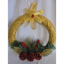 Adorno Para La Puerta De Navidad Varios Modelos