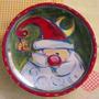 Bello Plato Bandeja De Ceramica Santa 27 Cms. Diametro