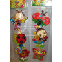 Calcomania Sticker Mariquita Ladybug Safari Cotillon