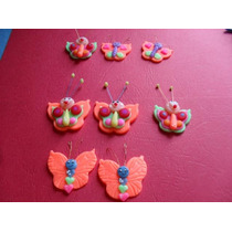 Aplique Mariposas -docenas 3cm Docena
