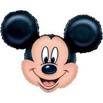 Globos Metalizados Cabezas De Mickey Gigante Xl